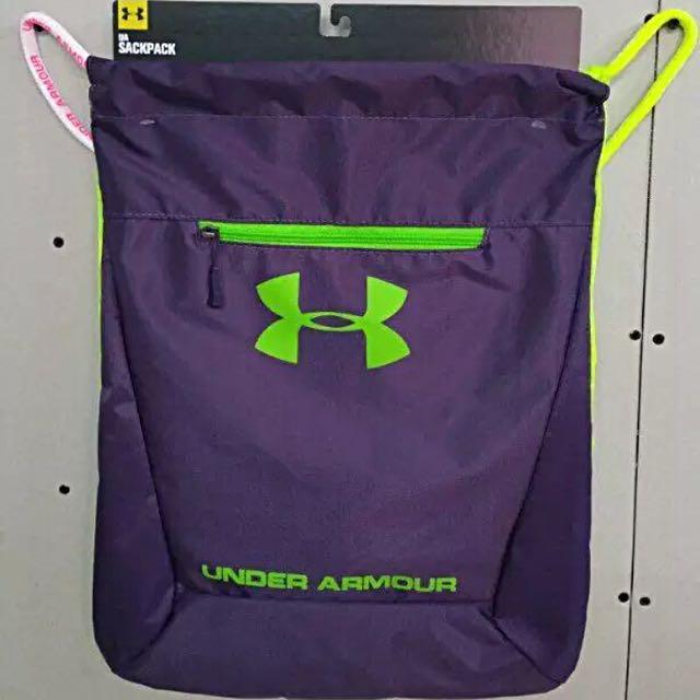 (po) Under Armour UA drawstring bag male female sports 4e160d7150247