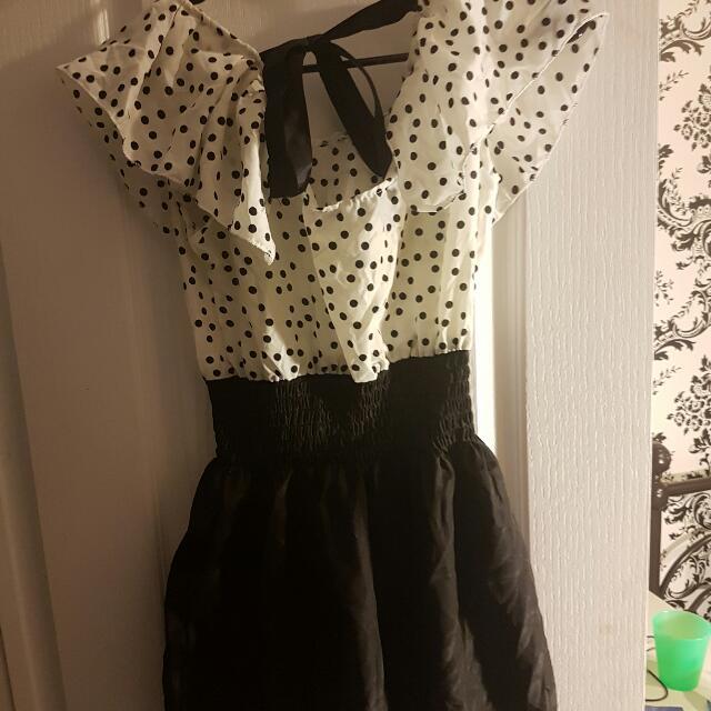 Polka Dot Dress Size Xs