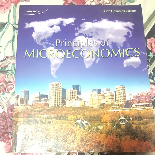 Principles Of Microecnomics 5th Edition
