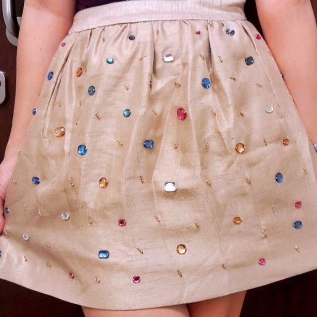 Rok Candy Gold Size M Merk Minimal