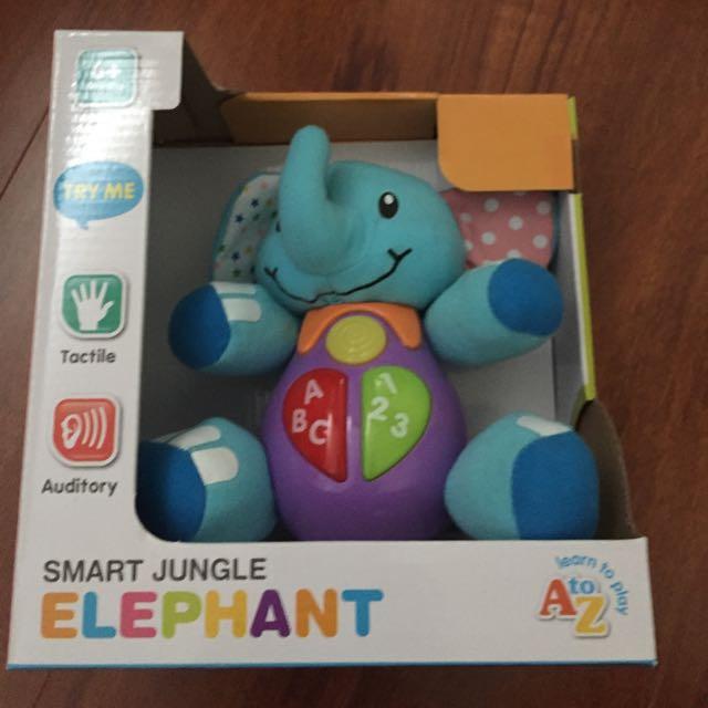 Smart Jungle Elephant