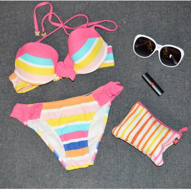Stripe Swimwear