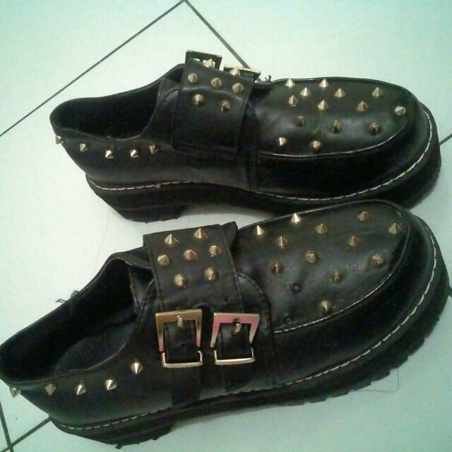 Reprice :::: Studded Cosplay Platform Boots