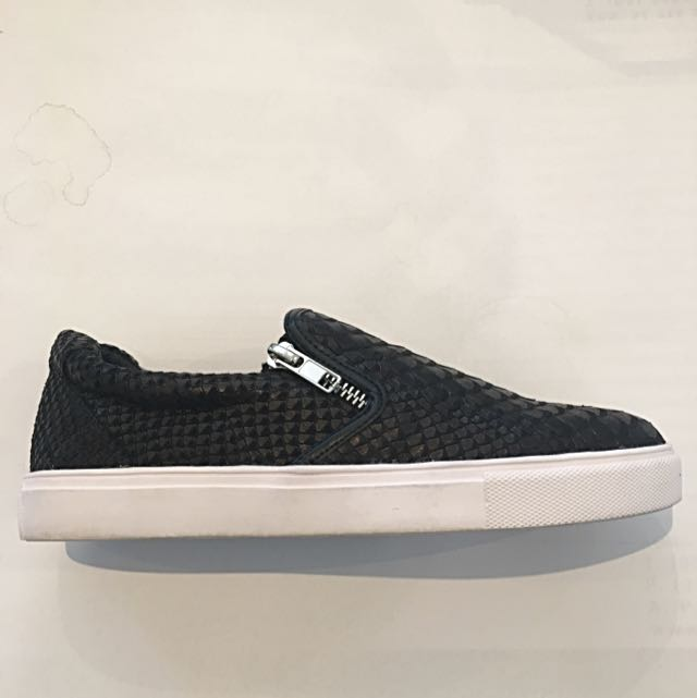 Textured Slip On's / Sneakers