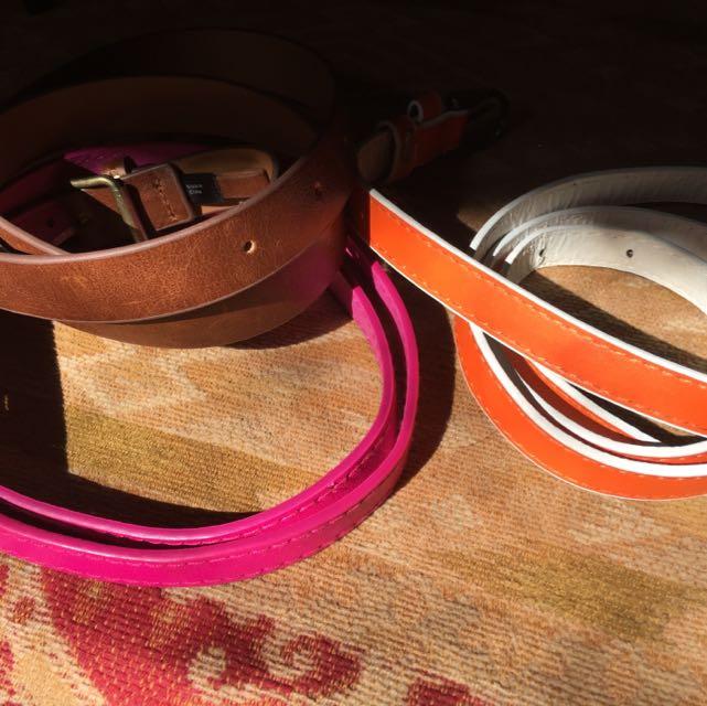 Three Coloured Belts