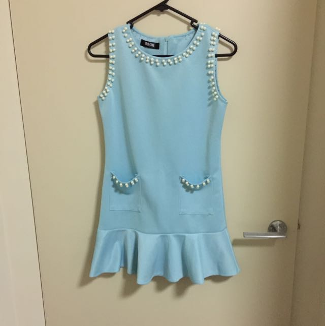Tiffany Blue Short Dress