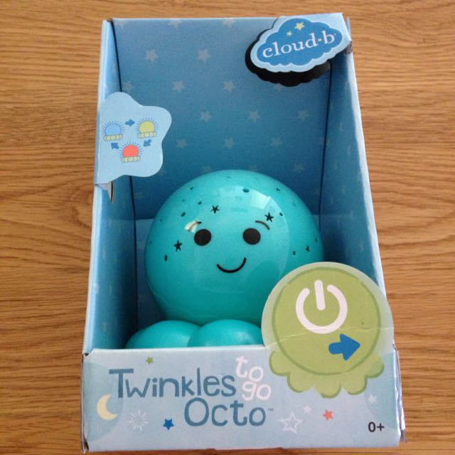 Twinkles To Go Octo Night Light