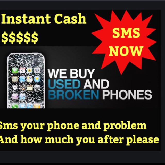WE BUY ICLOUD LOCKED OR UNWANTED DAMAGED PHONES FOR PARTS