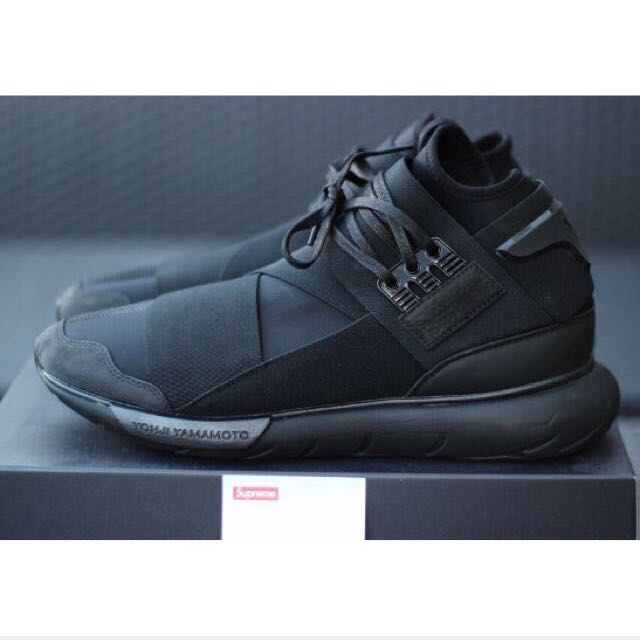 9488abc8de788 Y3 Qasa High Triple Black(RESERVED)