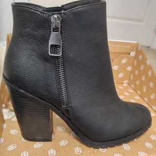 Spring Shoes Boots 7.5 But Fits Small Maybe Around Size6-6.5