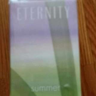 New and sealed Calvin Klein Eternity Summer eau de parfum perfume fregrance 100 ml or 3.4 oz This was a gift but cannot use fragrance any more becouse of allergies