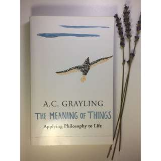 The Meaning Of Things - AC Grayling