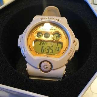 Baby G Shock Resistant原廠正版白色電子錶