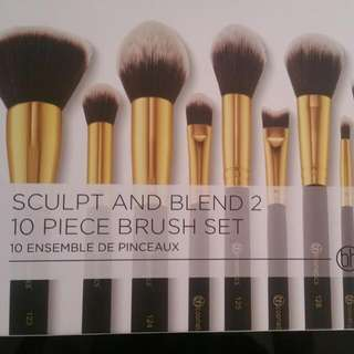 10 Peices BH Cosmetic Makeup Brushes