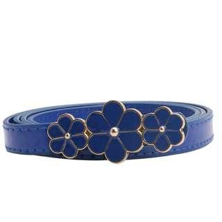 Flower Belt - Blue