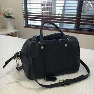 Genuine Leather Louis Vuitton Speedy 30 Replica