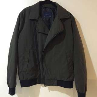 Zara Green Bomber Jacket XL