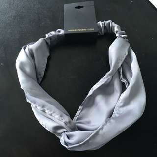 New Forever21 Silver Headband