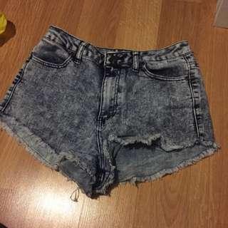 High Waisted Shorts Size 28
