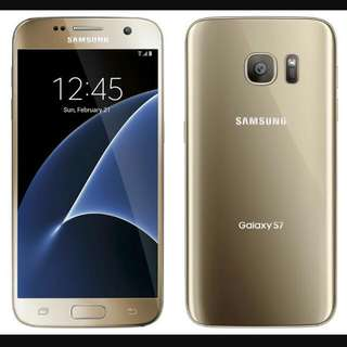 BNIB Recontract Starhub Samsung Galaxy S7 Gold 32GB