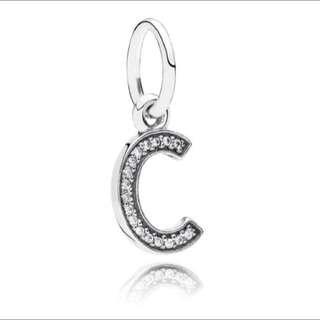 Letter C, Pandora Charm