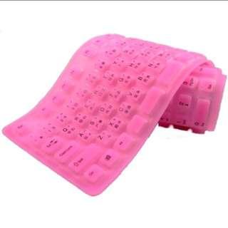 粉紅果凍鍵盤