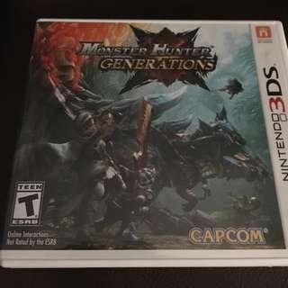 Monster hunter generations - 3dsxl