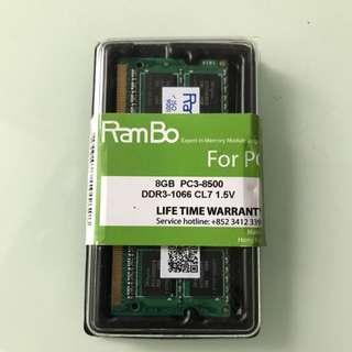 16GB Ram (8GBx2)