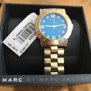 MARC JACOBS Gold Woman Watch