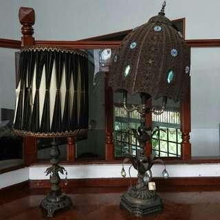 Lampu Meja Antik Amerika