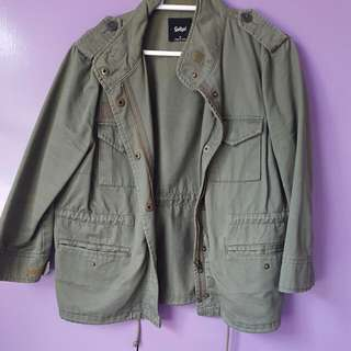 Sportsgirl Green Army Jacket