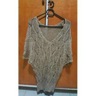 Long Knit Top / Coverup