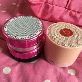 Speaker Pink 2 Item