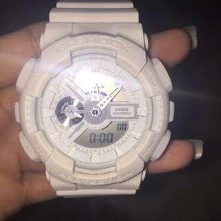 Original White G-Shock Watch