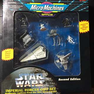 Micro Machines Star Wars Imperial Forces Gift Set - New