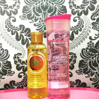 Tbs Strawberry Beautifying Oil-Silky Girl Make Up Remover
