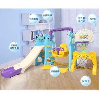 室內兒童家用寶寶溜滑梯多功能組合鞦韆玩具滑滑梯
