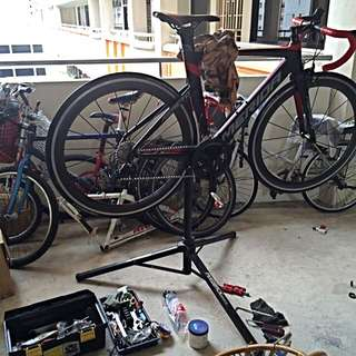Bicycle servicing service