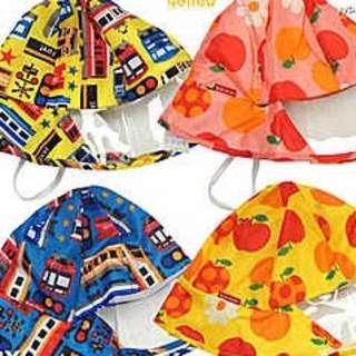 日本雨帽太陽帽 遮陽 晴雨帽 男女兒童 寶寶