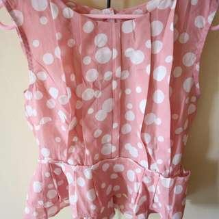 Polkadot Pink