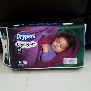Drypers Drynights M Size