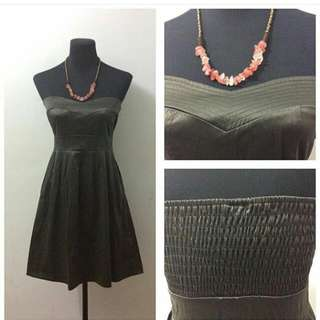 Boop Army Green Cocktail Dress
