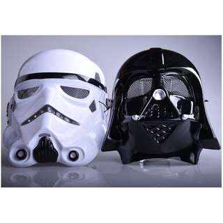 Halloween Festival Horror Mask Star Wars Darth Davis Empire Storm Clone trooper Cosplay soldiers full face mask for party games