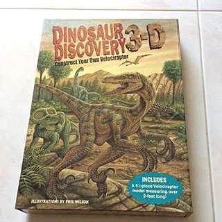 3D Dinosaur Discovery Set