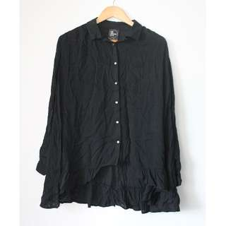 ALL ABOUT EVE black blouse