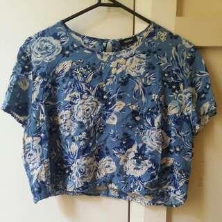 Nunui Silk Flower Shirt