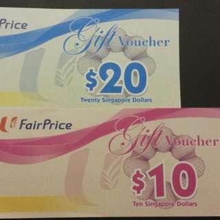 $500 NTUC Fairprice Vouchers