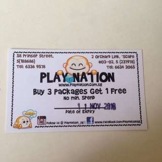 Playnation 3 Package + 1 Free Voucher