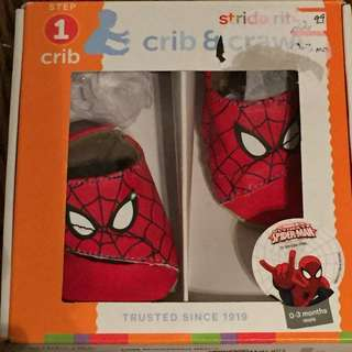 Spider-Man Baby Shoes 0-3 months