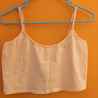 Light Pink Cropped Singlet